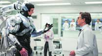 ROBOCOP RELOADED:  Joel Kinnaman  and Gary Oldman in RoboCop