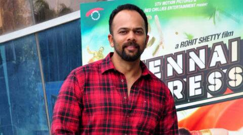 Rohit Shetty  is known for doing over-the-top action sequences like blowing up cars, flying of the goons with one heroic touch. (Photo: Varinder Chawla)