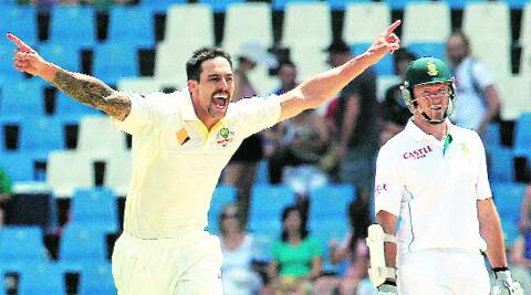 Johnson picked up 12 wickets in the first Test against South Africa. (AP)