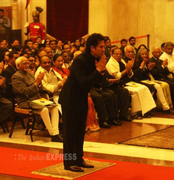 Sachin Tendulkar, Prof C N R Rao given Bharat Ratna