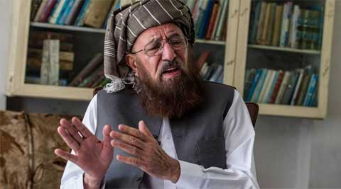 Samiul Haq, chief of Taliban panel, had a 'sleepless night' after news of the attack.