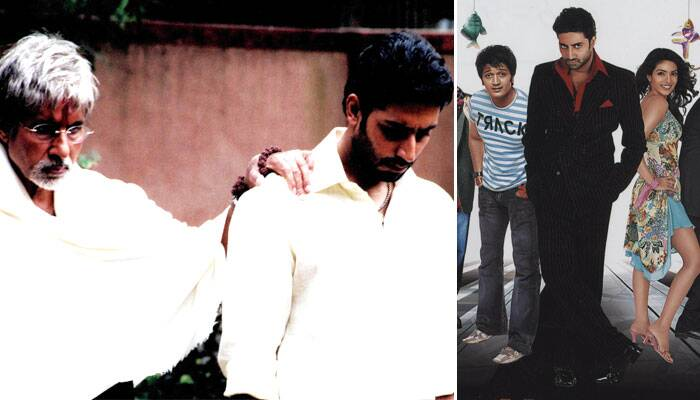 Later that year, Abhishek starred in Ram Gopal Varma's 'Sarkar', which was termed an above average success at the Box office. The film also starred Abhishek's father Amitabh Bachchan. Abhishek received the Filmfare Award for Best Supporting Actor, IIFA Award and Zee Cine Award for the same category. <br /><br /> He later appeared in his close friend Rohan Sippy's 'Bluffmaster' with Priyanka Chopra and Riteish Deshmukh.