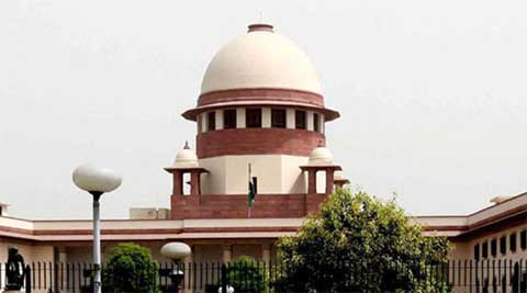 A bench of justices B S Chauhan and J Chelameswar also sought response from the Centre and the Election Commission on the issue of framing guidelines to restrain parties from imitating the tricolour. (IE Photo)