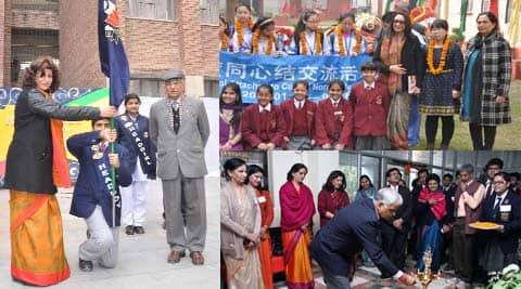 Activities at various schools.
