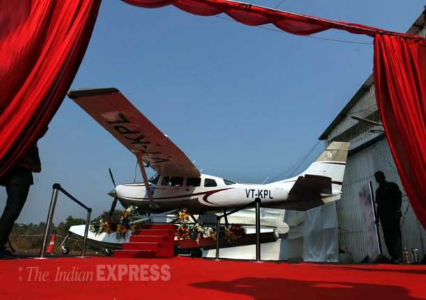 Mumbai firm launches seaplane service