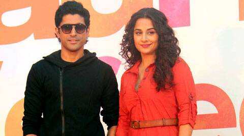 Vidya is a brilliant actress, says Farhan Akhtar.