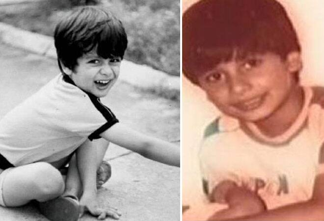 Here we get you Bollywood dancing king Shahid Kapoor's rare childhood picture on his 33rd birthday. Fondly called Sasha in the industry, Shahid's features have not changed much. He still have those twinkling eyes.