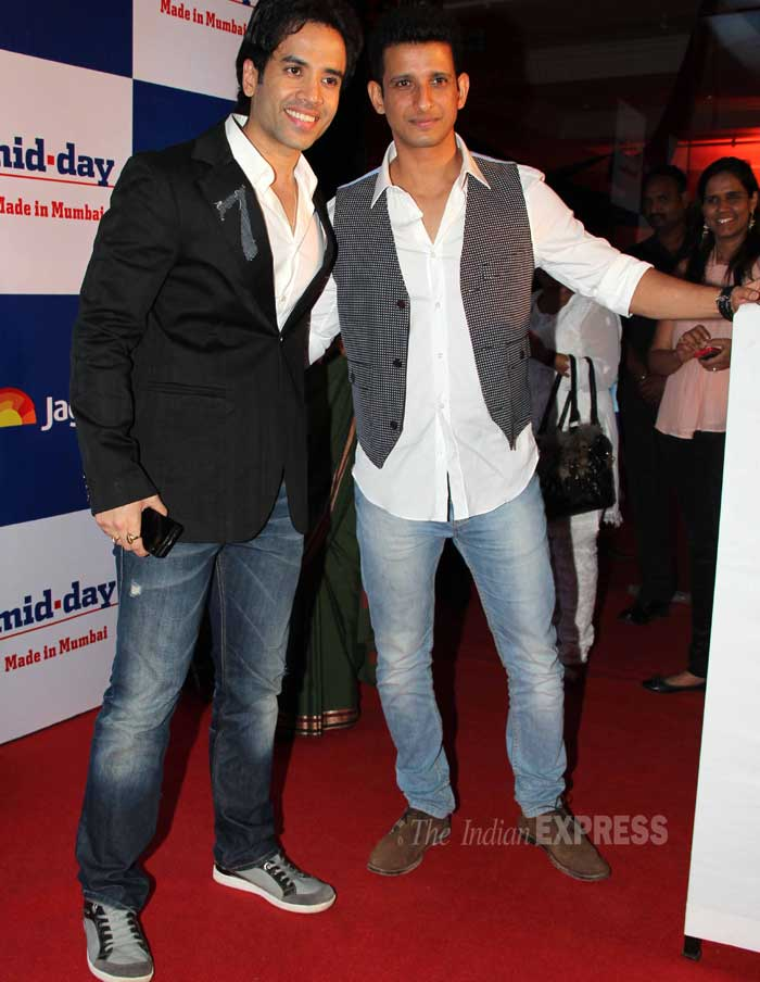 Sharman Joshi and Tusshar Kapoor were alos spotted at the event. (Photo: Varinder Chawla)