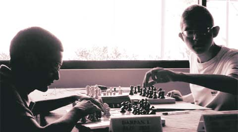 a film on India's blind chess players that will be screened at the festival.