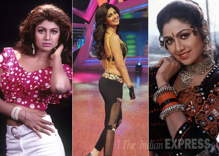 <b>Shilpa Shetty</b>: Known to have one of the most amazing bodies in the industry, this yummy mummy has indeed come a long way. Though she was never considered beautiful, Shilpa Shetty had a problem with her nose and underwent plastic surgery. The actress also boldly admitted to it and we must say she looked beautiful in films like 'Pardesi Babu' and 'Dhadkan'. Even after the birth of her son, Shilpa Shetty lost no time in regaining her sexy figure, which she flaunts both in sexy saris and western outfits.