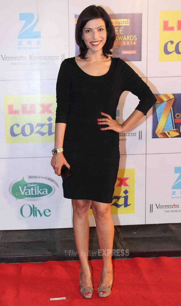 'B.A. Pass' actress Shilpa Shulka was sexy in the black dress. (Photo: Varinder Chawla)