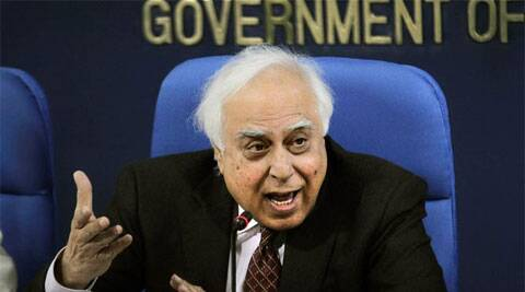 Kapil Sibal took a jibe at BJP for not uttering a word on the issue while it had bayed for Afzal Guru's blood. (AP)