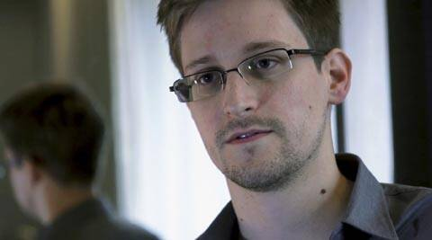 Former US intelligence contractor Edward Snowden.