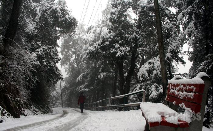 According to the weather department, temperature remained near the freezing point in many places. (IE Photo: Lalit Kumar)