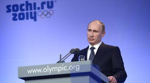 Russian President Vladimir Putin has staked his reputation on hosting a safe and successful Games in the Black Sea resort of Soch. (PTI)
