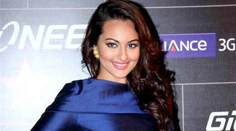 Sonakshi Sinha, seems to be working hard to shed off her extra few pounds.