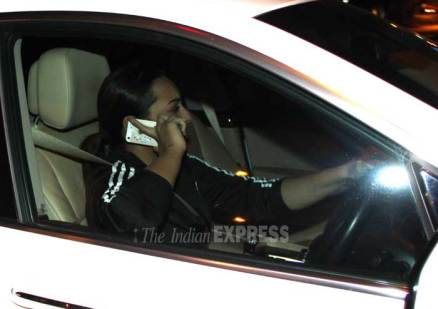 Spotted: Make up free Sonakshi Sinha