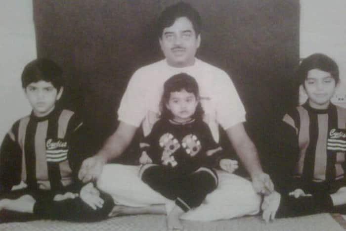sonakshi sinha, sonakshi sinha childhood pic, sonakshi sinha pic, sonakshi sinha throwback photo