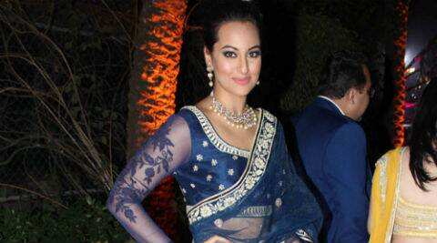 Apparently, Sonakshi's costume alone costs a mind blowing Rs. 75 lakhs.  (Photo: Varinder Chawla)