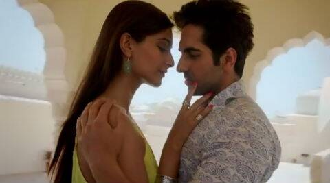 Sonam and Ayushmann play a couple, who are madly in love with each other in the film.