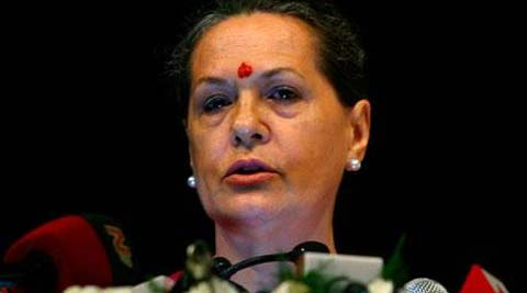 Congress President Sonia Gandhi gave her approval to the party's solo fight in the state.