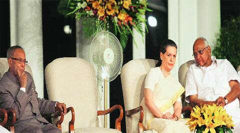 It's Pawar who's dictating terms now. With Sonia Gandhi. (File Photo)