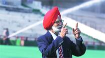 'Astro turf is very good for Indian hockey.  It's just an excuse that India has suffered because of it… it's all galleryshow'