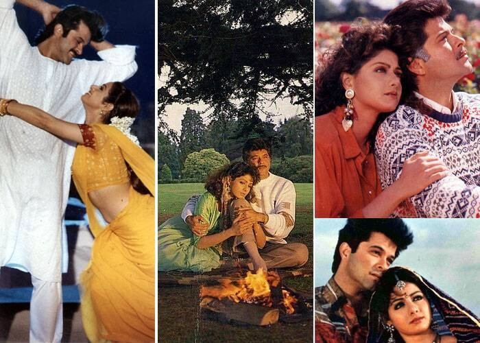 <b>Sridevi – Anil Kapoor</b>: Mr. India Anil Kapoor and Sridevi shared a splendid chemistry onscreen and were seen together in films like 'Lamhe, Judaai, Mr. India' and 'Roop Ki Rani Choro Ka Raja.' But she married his elder brother and producer Boney Kapoor and is now his elder sister-in-law.