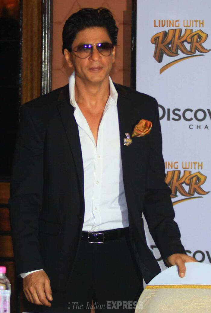 The four-part series 'Living With KKR' will air from February 24 to 27 on Discovery Channel. (IE Photo: Amit Chakravarty)