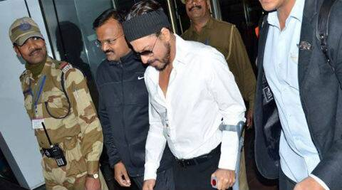 Shah Rukh Khan recently took to Twitter to share his status about his recovering injury. (Image courtesy: Facebook)