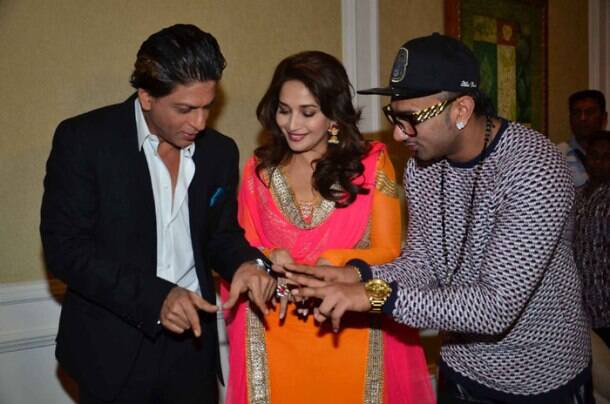 Shah Rukh Khan, Madhuri Dixit together in Malaysia