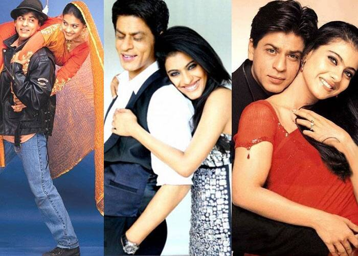 <b>Kajol-Shah Rukh Khan</b>: They won our hearts for the first time with their love story of all time, 'Dilwale Dulhania Le Jayenge', where Shah Rukh Khan played the endearing Raj, while Kajol was the pretty shy and feisty Simran. Their first hit together remains the longest-running film in the history of Indian cinema.  <br /><br /> Becoming one of the  most loved pairing, their success followed with films like 'Baazigar', Karan Johar's 'Kuch Kuch Hota Hai', another huge commercial hit and family drama 'Kabhi Kushi Kabhie Gham'. Their last release was touching and heartfelt story 'My Name Is Khan'. The film is currently the 10th highest grossing Bollywood film with a worldwide gross of Rs 200 crore.