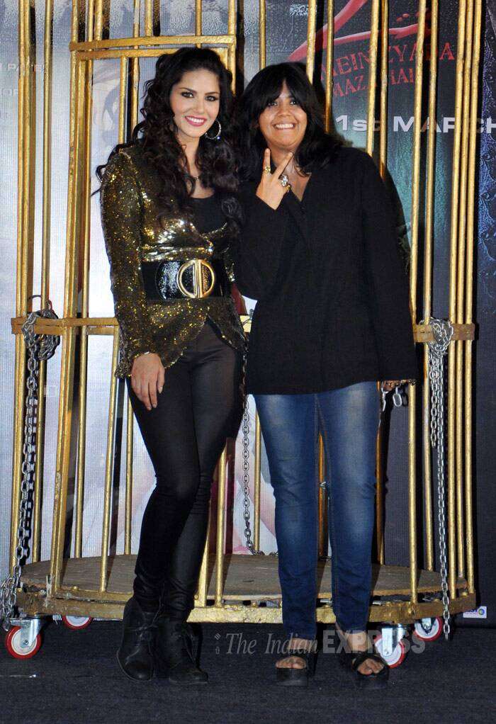 Balaji Motion Pictures head honcho Ekta Kapoor was also present at this first-of-a-kind event. (Photo: Varinder Chawla)