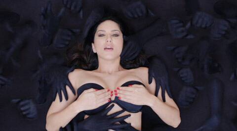 While the film's release is a long way off, Sunny Leone's pic from sensational 'Baby Doll' song from 'Ragini MMS 2' has created a buzz on the internet.