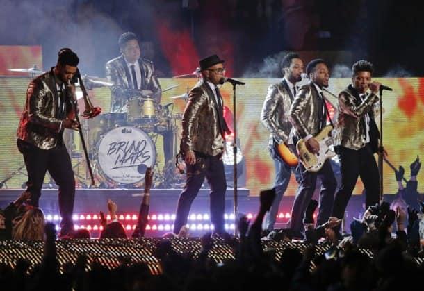 Bruno Mars's rocking performance at Super Bowl