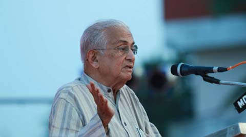 "Justice Suresh terms the campaign of Gujarat's development as ""fiction"" in the book."