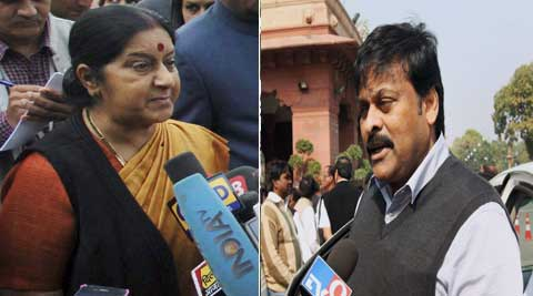 Union Tourism Minister Chiranjeevi threatened to stall the Rajya Sabha where the bill would be brought on Wednesday.