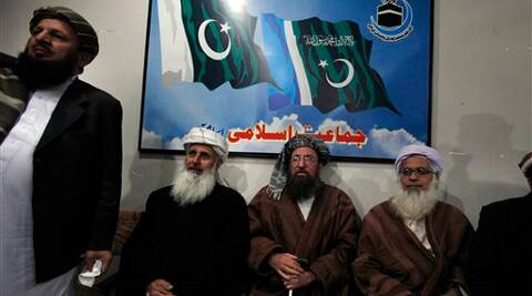 Negotiators from Pakistani Taliban committee. (AP)