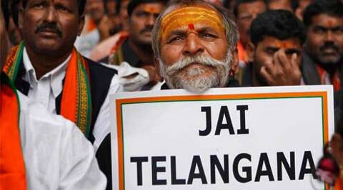 Despite fierce protests over the Telangana issue, Andhra Assembly was able to pass a bill. (Reuters)
