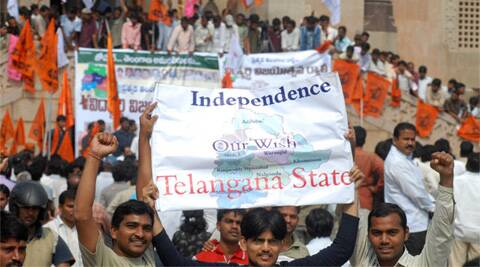 The bill to create the country's 29th state, by splitting Andhra Pradesh, was passed by Parliament on February 20. (AP)