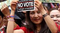 8 people hurt as violence grips Thailand ahead of polls on Sunday