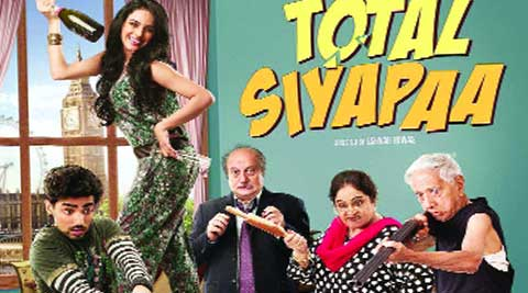 CULTURE CAPER:  Poster of film Total Siyapaa