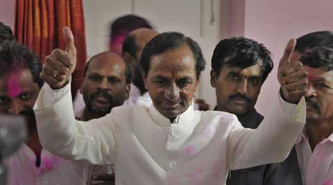 Chandrashekhar Rao's meeting with the top Congress leaders has come amid speculation over possible merger of his party with Congress. (PTI Photo)