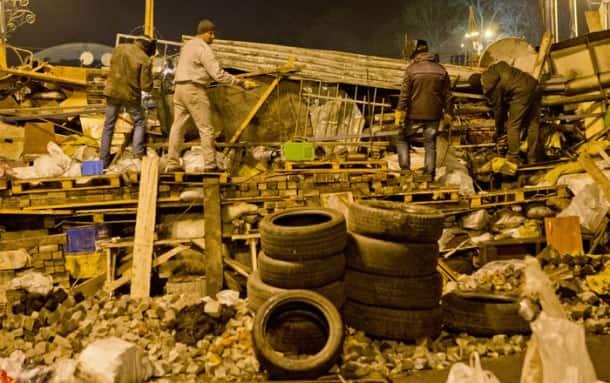 Ukraine protest violence kills scores