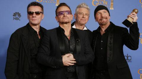 """""""The U2 comeback is very much on for this year. This album has been a real struggle for them to make. It's taken a long time and Bono didn't find it easy. But they feel very confident now and are convinced the wait has been worth it,"""" a source said."""