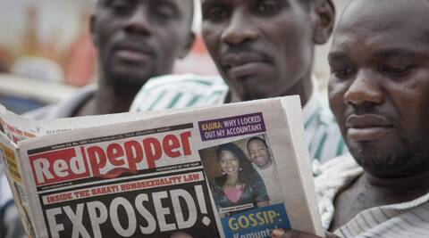 Gays in Uganda far a possible backlash after a newspaper published a list of top gays. (AP)