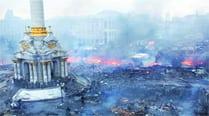 Kiev burns, sanctionsloom