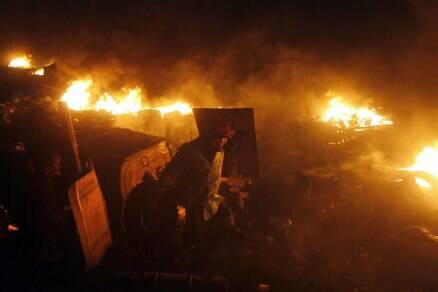 Fresh clashes kill 17 protesters in Ukraine