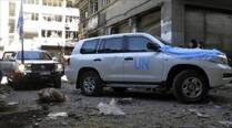 Syria: Aid convoy hit trying to reach besieged Homs