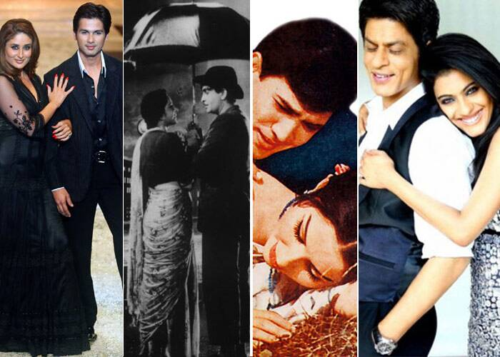 Since we're celebrating the special day of love, Valentine's Day, we take a look at some of our all-time hottest and best couples onscreen jodis - who we truly wish were real-life couples instead of only reel-life couples. Nonetheless, their performances have had us glowing with joy and sobbing with sadness as we too dreamed of love stories like theirs.